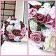 Свадебные цветы ручной работы. Ярмарка Мастеров - ручная работа. Купить Розовая сказка. Handmade. Свадьба, розовый, букет из роз