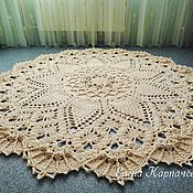 Для дома и интерьера handmade. Livemaster - original item The Grand carpet of polyester cord. Handmade.