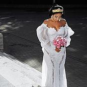 Свадебная Корона-тиара для волос Ангел