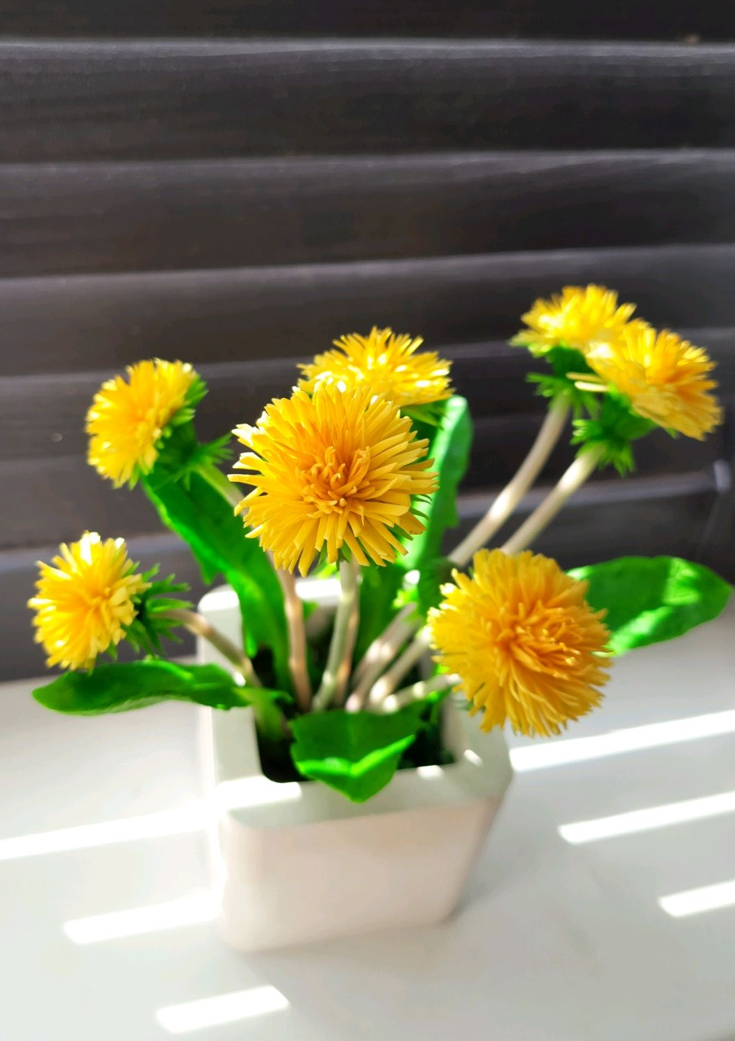 Одуванчики из полимерной глины, Цветы, Краснодар,  Фото №1