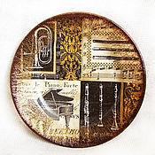 """Посуда ручной работы. Ярмарка Мастеров - ручная работа Тарелка """"Концертный зал"""". Handmade."""