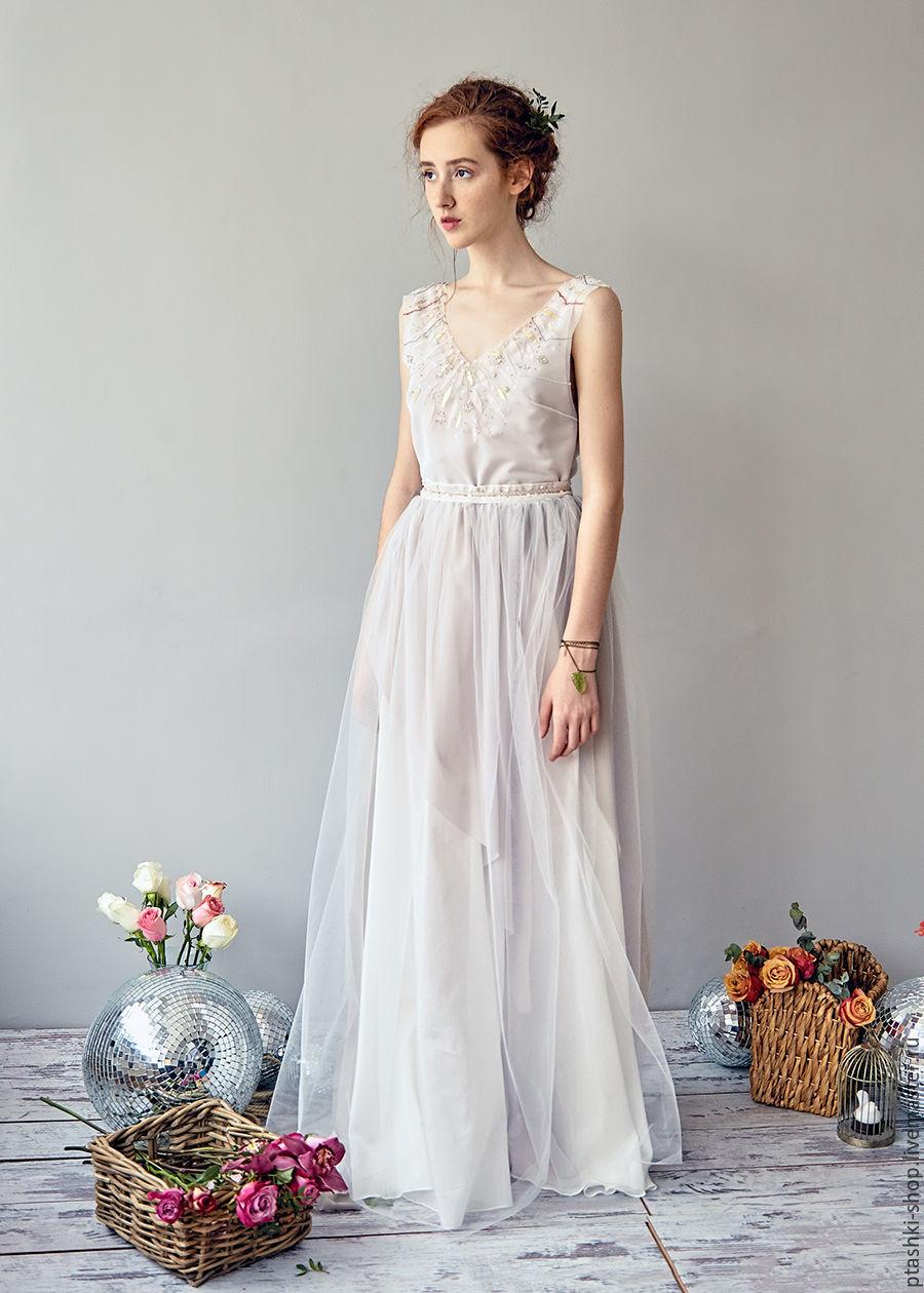 Хлопок свадебное платье