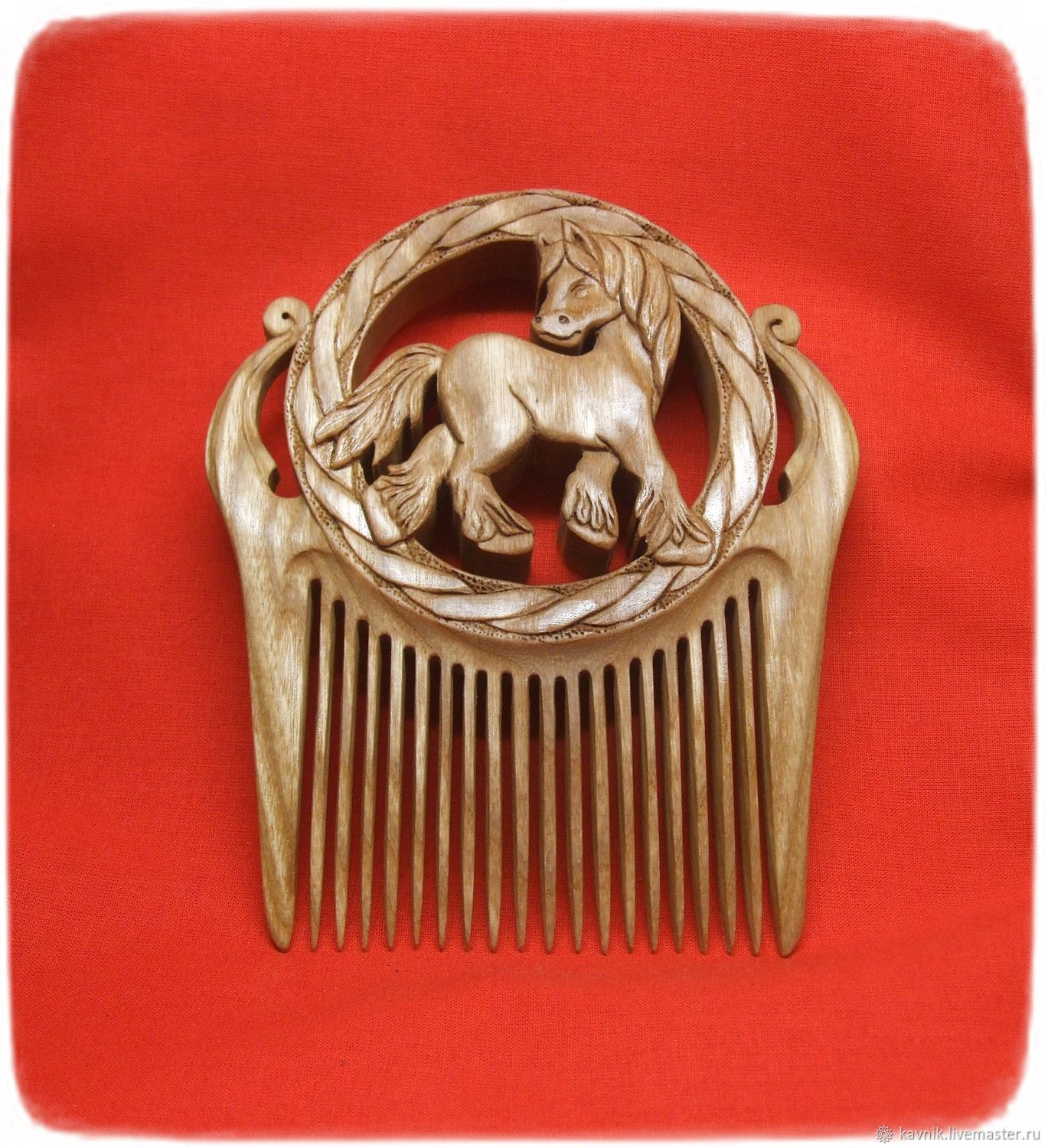 HORSE hair comb, Combs, Moscow,  Фото №1