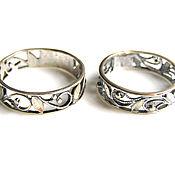 Материалы для творчества handmade. Livemaster - original item Base for a ring with a coating of 925 silver. Handmade.