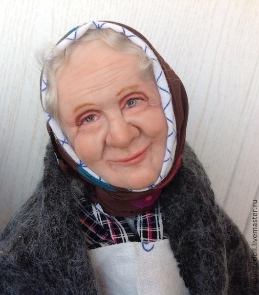 Коллекционные куклы ручной работы. Ярмарка Мастеров - ручная работа. Купить Милая моя бабушка. Handmade. Бабуля, кукла бабушка