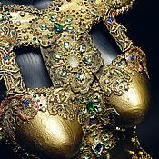 Костюмы ручной работы. Ярмарка Мастеров - ручная работа Корсет. Золото и Камни. Handmade.