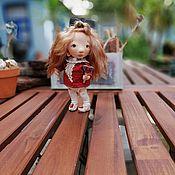 Куклы и пупсы ручной работы. Ярмарка Мастеров - ручная работа Текстильная кукла кукла из ткани. Handmade.