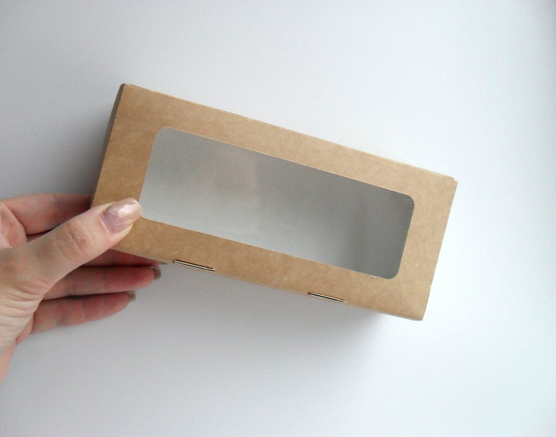 коробка коробочка крафт картон крышка окно окошко для пряников козуль печенья конфет шоколада выпечки подарков мыла hand made недорогая упаковка купить самосборная прочная красивая хорошая магазин