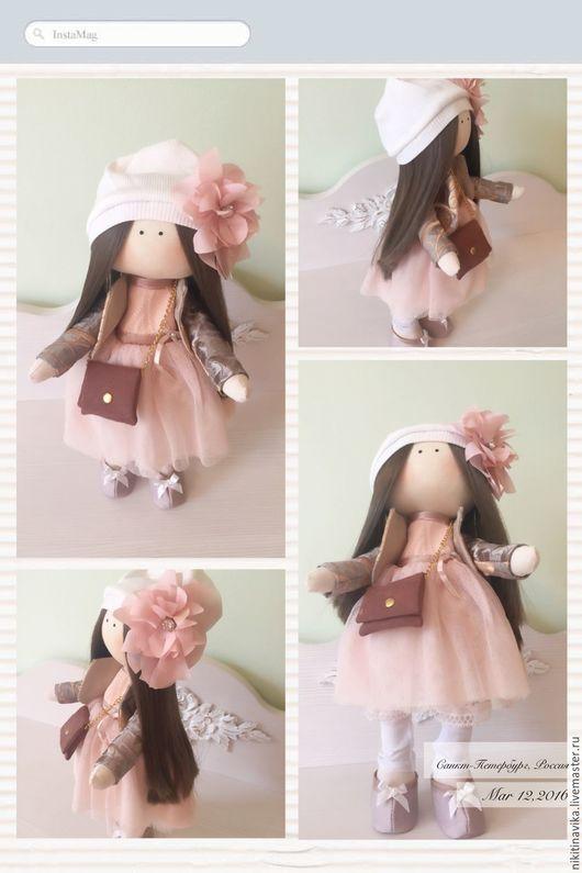 """Куклы тыквоголовки ручной работы. Ярмарка Мастеров - ручная работа. Купить Куколка """" Пудровая"""". Handmade. Кукла ручной работы"""
