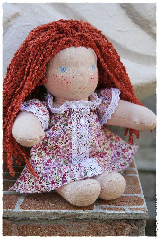Вальдорфская игрушка ручной работы. Ярмарка Мастеров - ручная работа. Купить Кукла. Handmade. Вальдорфская кукла, текстильная кукла, сливер