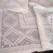 Для дома и интерьера handmade. Livemaster - original item A festive tablecloth.. Handmade.