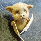 Мягкие игрушки ручной работы. Ярмарка Мастеров - ручная работа Мышь летучая Мышастик. Handmade.