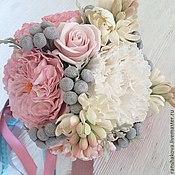 """Свадебный салон ручной работы. Ярмарка Мастеров - ручная работа Букет невесты с пионовидными розами """"Розовые грезы"""". Handmade."""