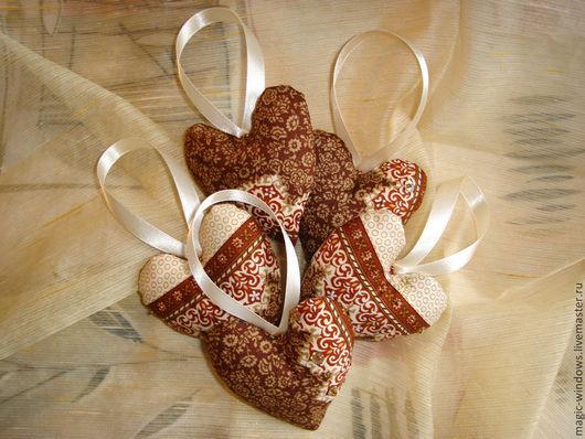 """Подарки для влюбленных ручной работы. Ярмарка Мастеров - ручная работа. Купить """"Мятный шоколад"""" - саше с мятой. Handmade. Коричневый, подарок"""