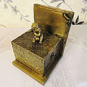 Для дома и интерьера handmade. Livemaster - original item Holder for books and the box