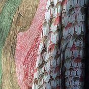 """Пиджаки ручной работы. Ярмарка Мастеров - ручная работа Легкий стеганый жакет из шелка """"Я люблю Иа-Иа"""". Handmade."""