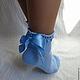 Носки, чулки ручной работы. Носки вязаные. Носочки вязаные «Весенний вальс» из коллекции «Подарки». Olgafrancesca . Ярмарка мастеров.