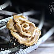 """Украшения ручной работы. Ярмарка Мастеров - ручная работа Кольцо """"Жемчужные лепестки"""". Handmade."""