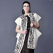 Одежда handmade. Livemaster - original item Handmade Felted coat burka. Handmade.