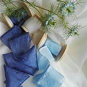 Цветы и флористика ручной работы. Ярмарка Мастеров - ручная работа Шелковые ленты ручной работы. Handmade.
