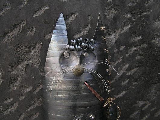 Элементы интерьера ручной работы. Ярмарка Мастеров - ручная работа. Купить котик коллекционный. Handmade. Кот в подарок