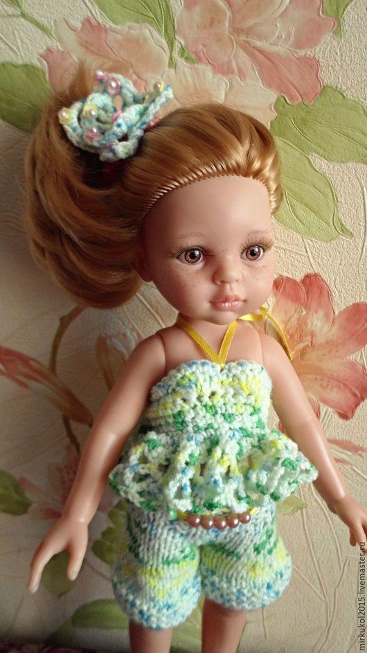 Одежда для кукол ручной работы. Ярмарка Мастеров - ручная работа. Купить Летний комплект из 6 предметов для Паола Рейна. Handmade.