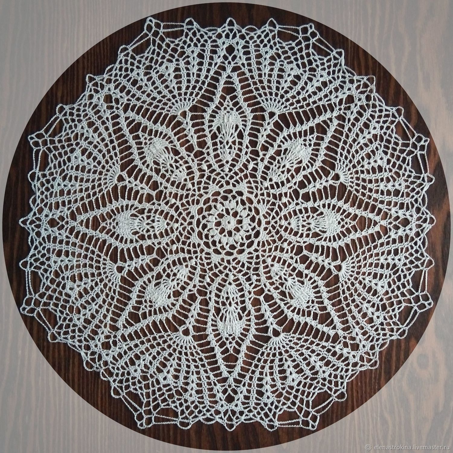 Doily Crochet The Shining Shop Online On Livemaster With