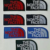 Материалы для творчества ручной работы. Ярмарка Мастеров - ручная работа шевроны-нашивки the North Face. Handmade.