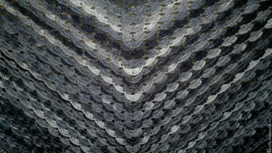 Шали, палантины ручной работы. Ярмарка Мастеров - ручная работа. Купить Теплая шаль. Handmade. Комбинированный, подарок, подарок женщине