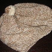 Аксессуары ручной работы. Ярмарка Мастеров - ручная работа шапочка-берет. Handmade.