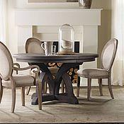 Для дома и интерьера ручной работы. Ярмарка Мастеров - ручная работа Дизайнерский круглый обеденный стол из массива Классицизм. Handmade.
