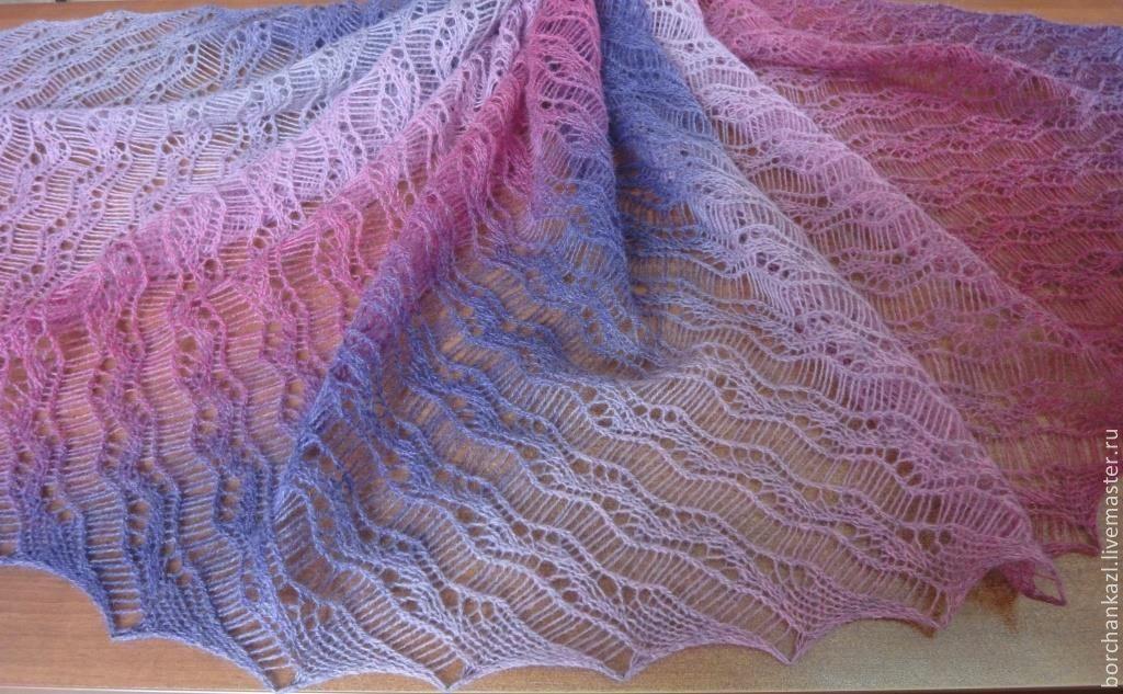 Tippet Purple Heather, Wraps, Borskoye,  Фото №1