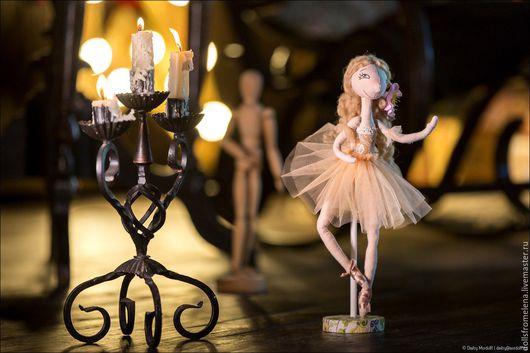 Коллекционные куклы ручной работы. Ярмарка Мастеров - ручная работа. Купить Кукла-балеринка. Handmade. Кукла ручной работы