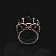 Кольца ручной работы. Кольцо Mios. GlenJan Jewelry. Ярмарка Мастеров. Кольцо, крупное кольцо, черный, проволока, кольца