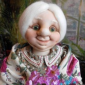 Куклы и игрушки ручной работы. Ярмарка Мастеров - ручная работа Бабушка  МАША- хранительница дома. Handmade.
