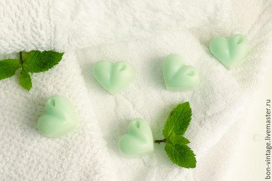 Релаксация, ароматерапия ручной работы. Ярмарка Мастеров - ручная работа. Купить Мята - арома конфеты для белья. Handmade. Мятный