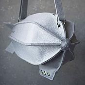 Сумки и аксессуары ручной работы. Ярмарка Мастеров - ручная работа Сумка - Дирижабль из натурального серого фетра. Handmade.