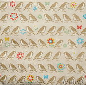 Материалы для творчества handmade. Livemaster - original item 10pcs Napkin decoupage little birds in the flowers. Handmade.