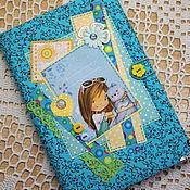 Блокноты ручной работы. Ярмарка Мастеров - ручная работа Блокнот для девочки.. Handmade.