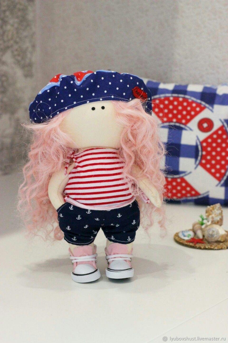 Кукла отпускница (с нарядами) – купить на Ярмарке Мастеров ...