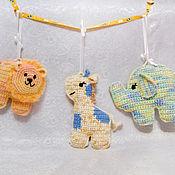 """Работы для детей, ручной работы. Ярмарка Мастеров - ручная работа Набор игрушек """"Пряничная Африка"""". Handmade."""