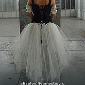 Юбки ручной работы. Ярмарка Мастеров - ручная работа Длинная юбка - пачка со шлейфом. Handmade.