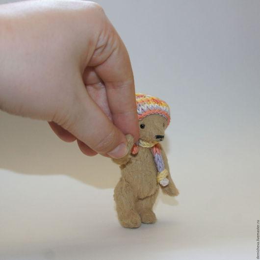 Мишки Тедди ручной работы. Ярмарка Мастеров - ручная работа. Купить Андрюшка. Handmade. Теддик, подарок, вискоза