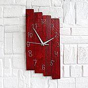 Для дома и интерьера handmade. Livemaster - original item Handmade wooden wall clock. Handmade.