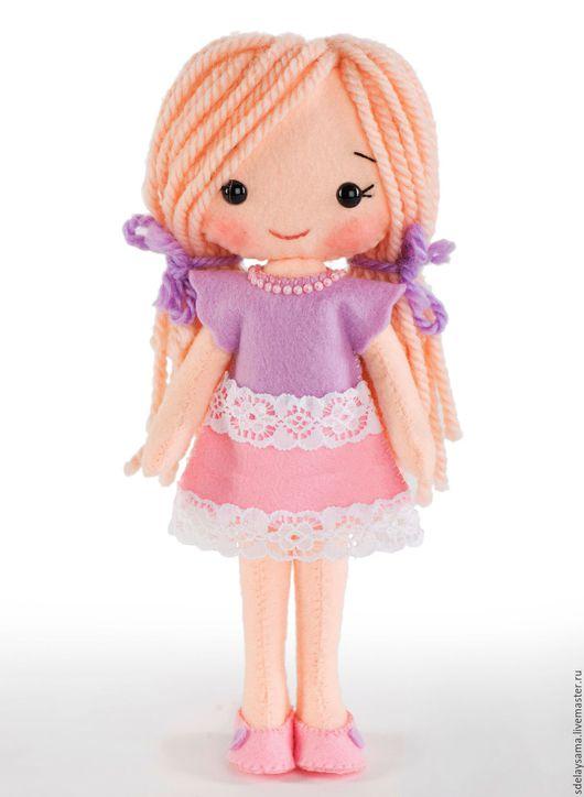 Куклы и игрушки ручной работы. Ярмарка Мастеров - ручная работа. Купить Куколка Лика (набор для шитья игрушки). Handmade.