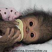Куклы и игрушки ручной работы. Ярмарка Мастеров - ручная работа Реборн обезьянка Чита Bindi.Бинди. Handmade.