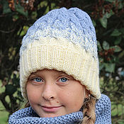 Аксессуары handmade. Livemaster - original item Winter hats and scarves knitting. Handmade.