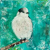 Картины и панно ручной работы. Ярмарка Мастеров - ручная работа Small bird. Handmade.