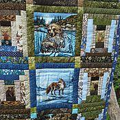 Для дома и интерьера ручной работы. Ярмарка Мастеров - ручная работа Лоскутное одеяло ЗВЕРИ И ПТИЦЫ. Handmade.