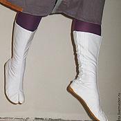 Обувь ручной работы. Ярмарка Мастеров - ручная работа Ниндзя шузы, ninja shoes, Ниньзя шуз белые. Handmade.